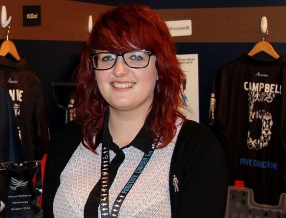 Lauren Davies, Campaigns and Media Coordinator