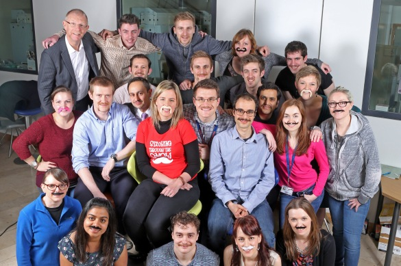 Queen's University Belfast's 42-strong team of Mo Bros and Mo Sistas