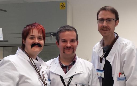 Dr Jason Webber's Cardiff mo team